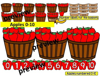 Place value & ten frames clipart.
