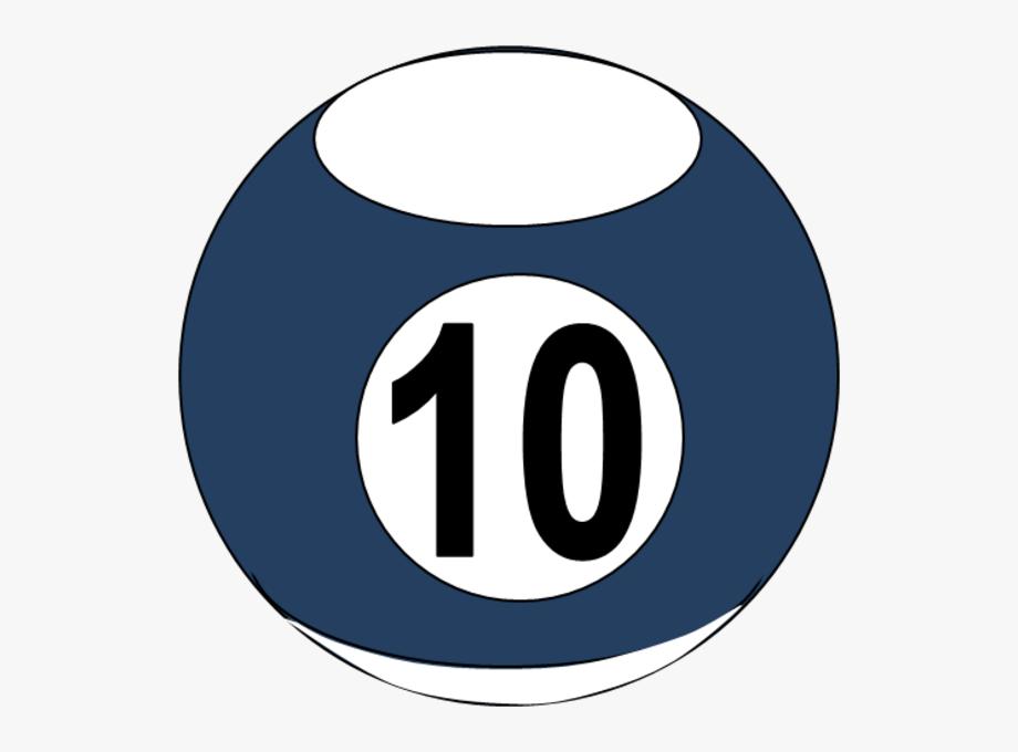 Billiards Clipart 10 Ball.