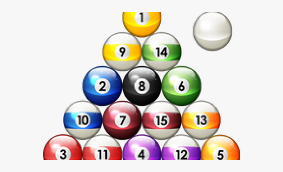 8 Ball Pool Clipart Pool Triangle.