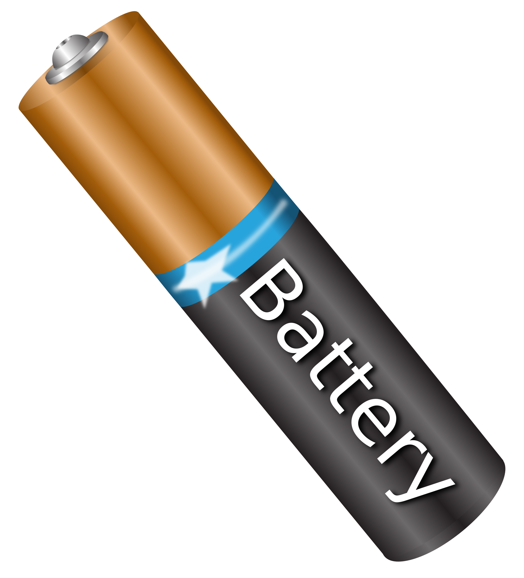 596 Battery free clipart.