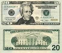 Bills clipart 20 dollar, Bills 20 dollar Transparent FREE.