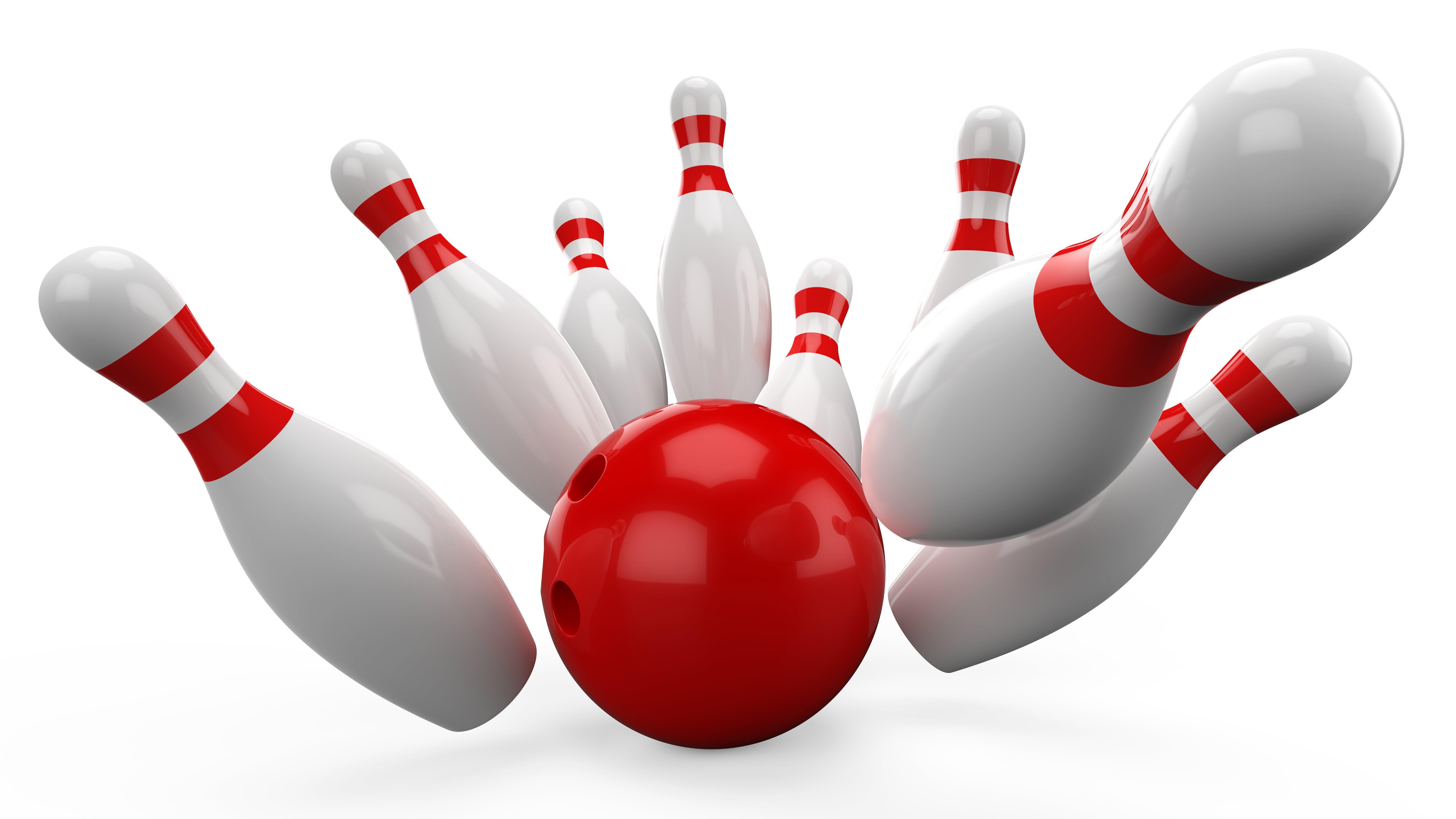 Ten Pin Bowling Clipart Free.