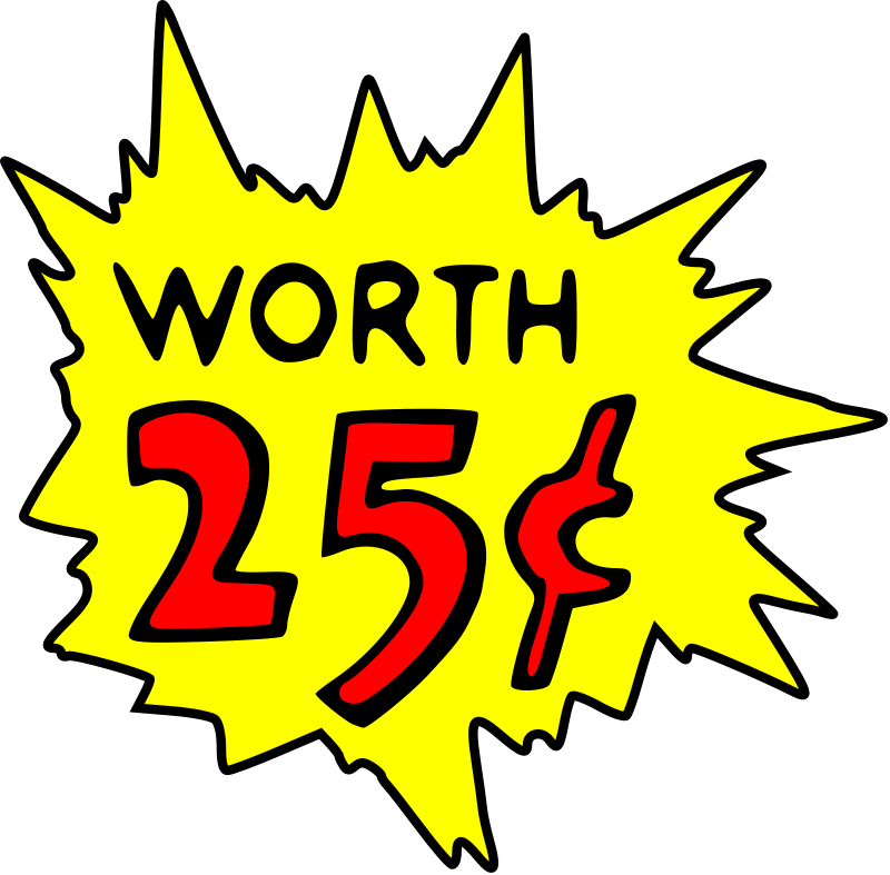 10 Cents Clipart.