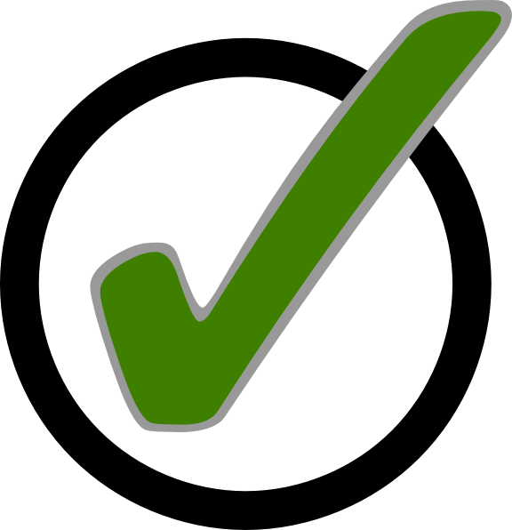 Free Green Check Mark Image, Download Free Clip Art, Free.
