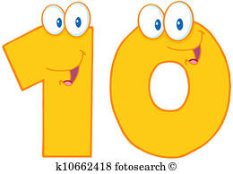 Number 10 Clipart Royalty Free. 7,874 number 10 clip art vector.