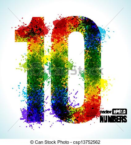 Number 10 Illustrations and Clipart. 9,994 Number 10 royalty free.