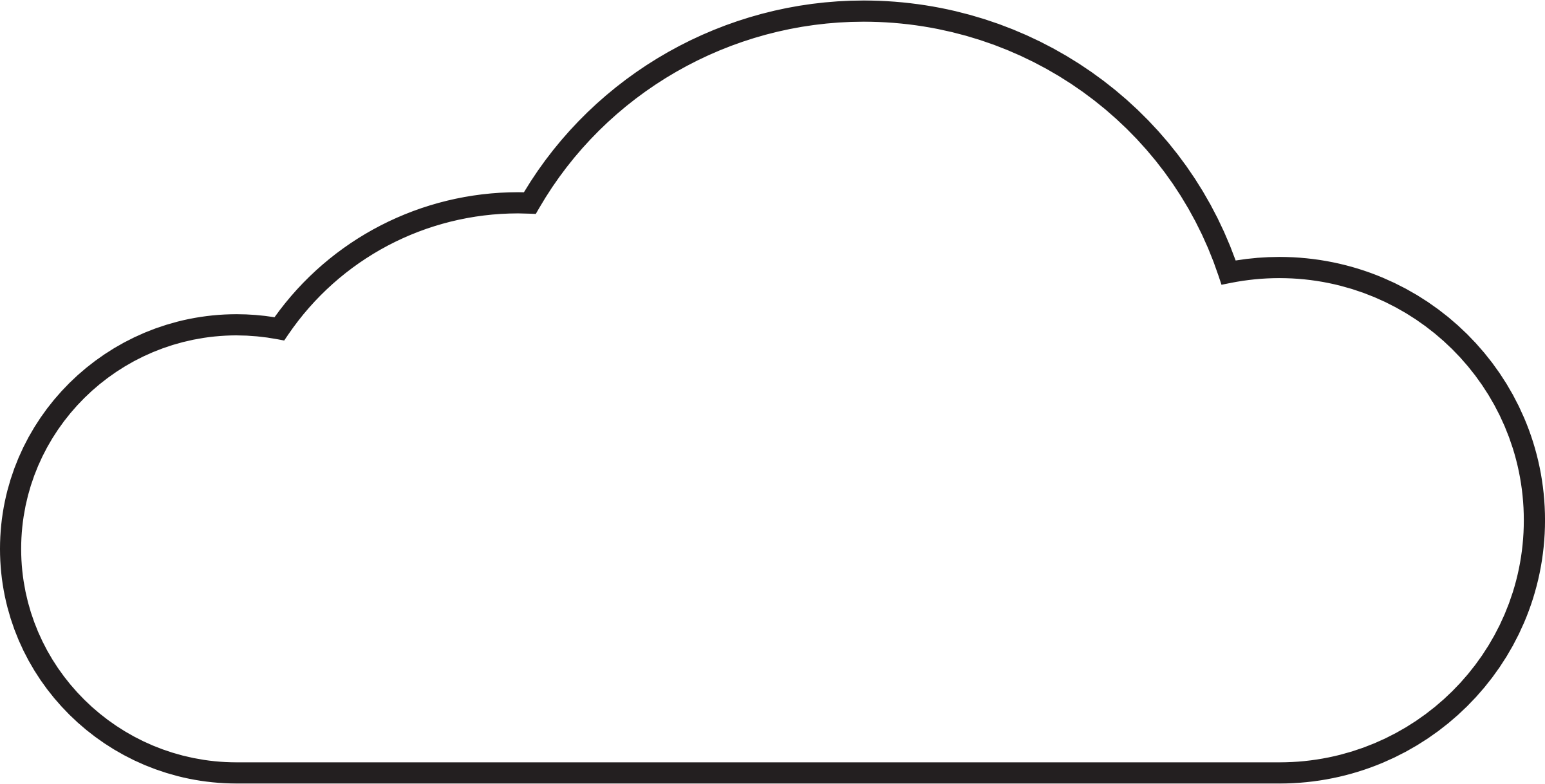 Cloud Vector Outline at GetDrawings.com.