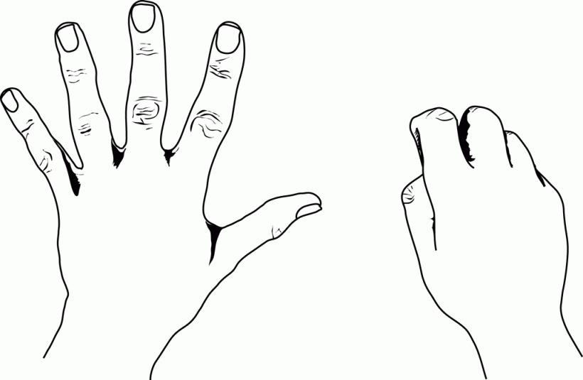 5 clipart finger, 5 finger Transparent FREE for download on.