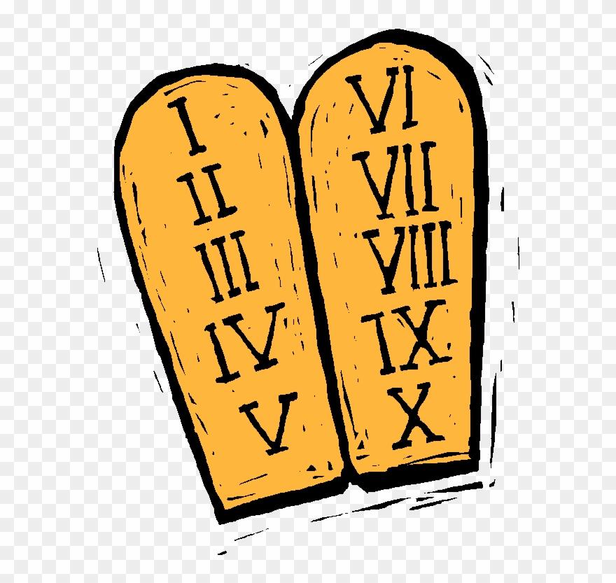 10 Commandments Clipart.