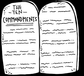 Melonheadz LDS illustrating: 10 commandments.