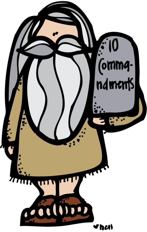 Moses & the Ten Commandments.