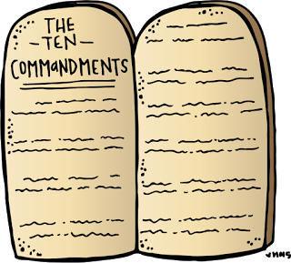 Melonheadz LDS illustrating: Ten Commandments Freebie.
