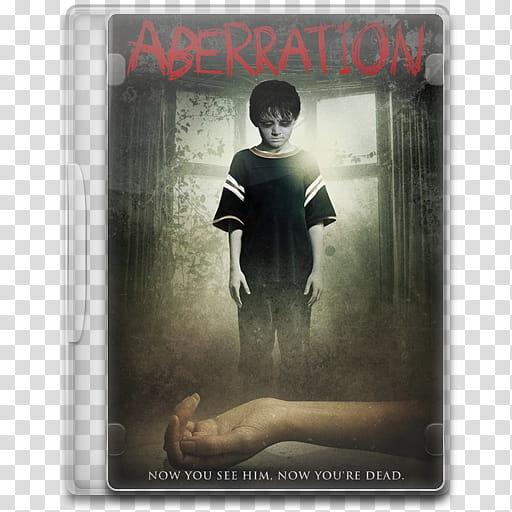 Movie Icon Mega , Aberration, Aberration DVD case.