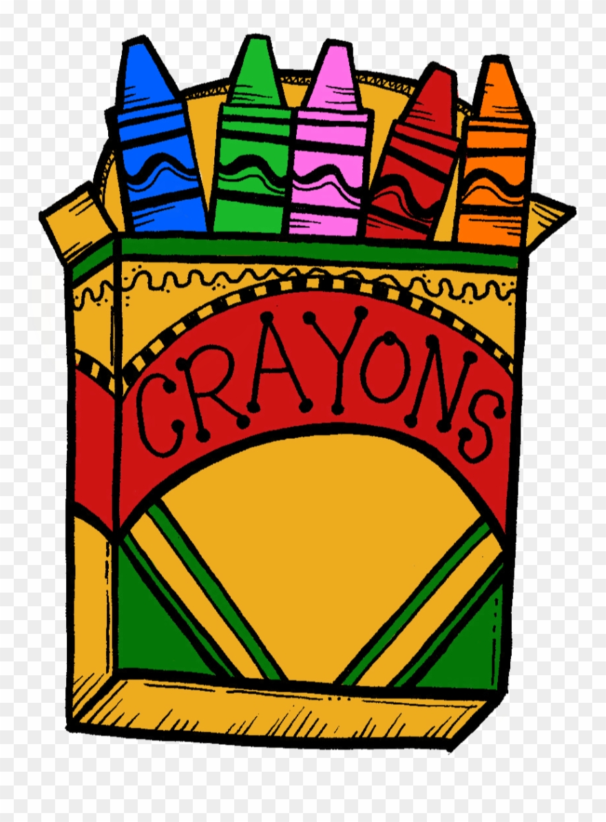 Crayons clipart box 10, Crayons box 10 Transparent FREE for.