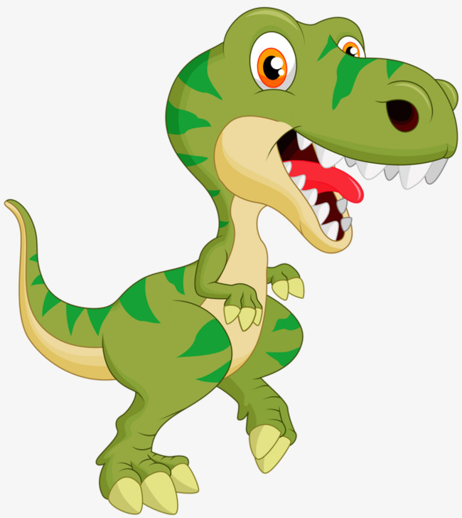 Download Free png Cute Little Dinosaur Clipart Green PNG.