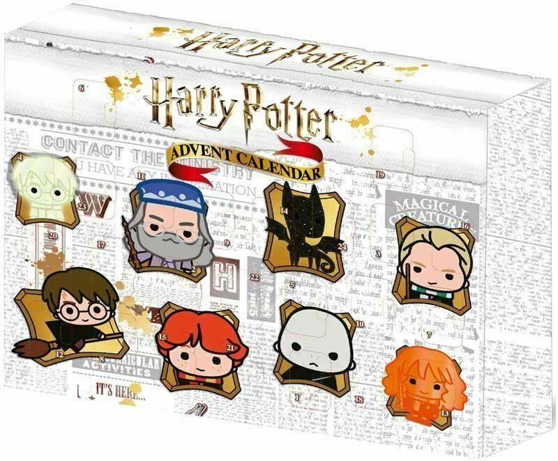 Ooshies Harry Potter Advent Calendar Count Down The Days Till Christmas.