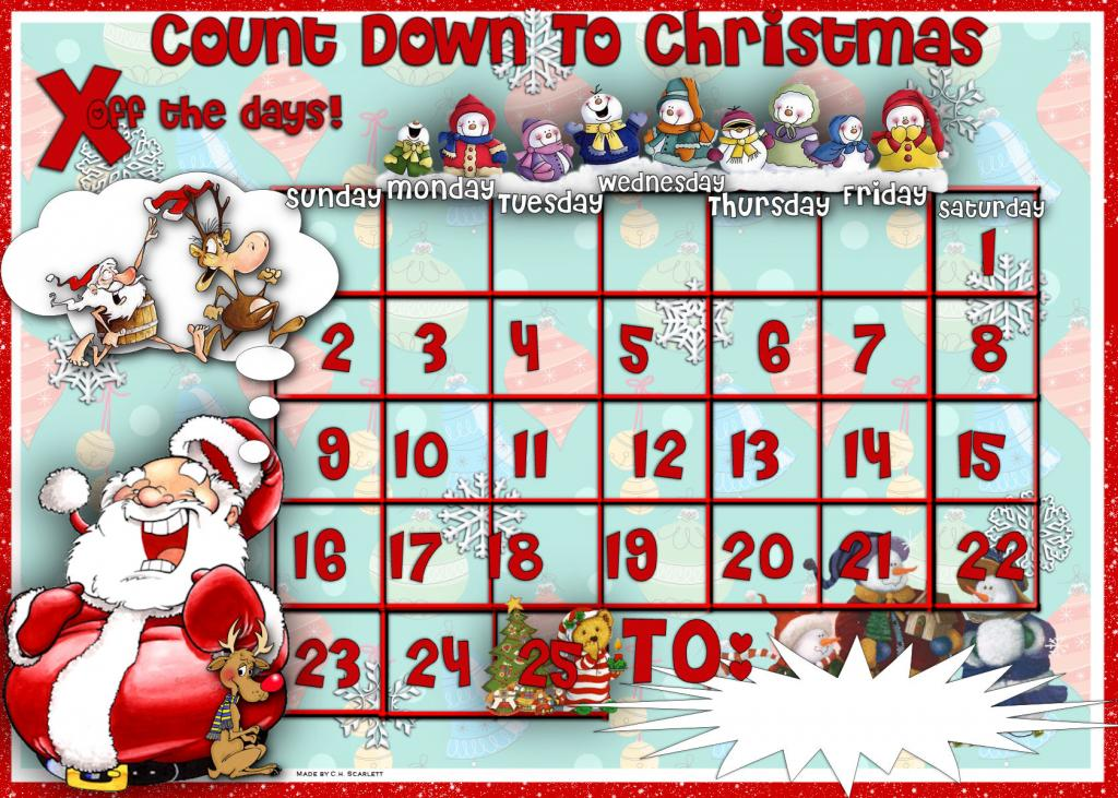Free Christmas Countdown Cliparts, Download Free Clip Art.