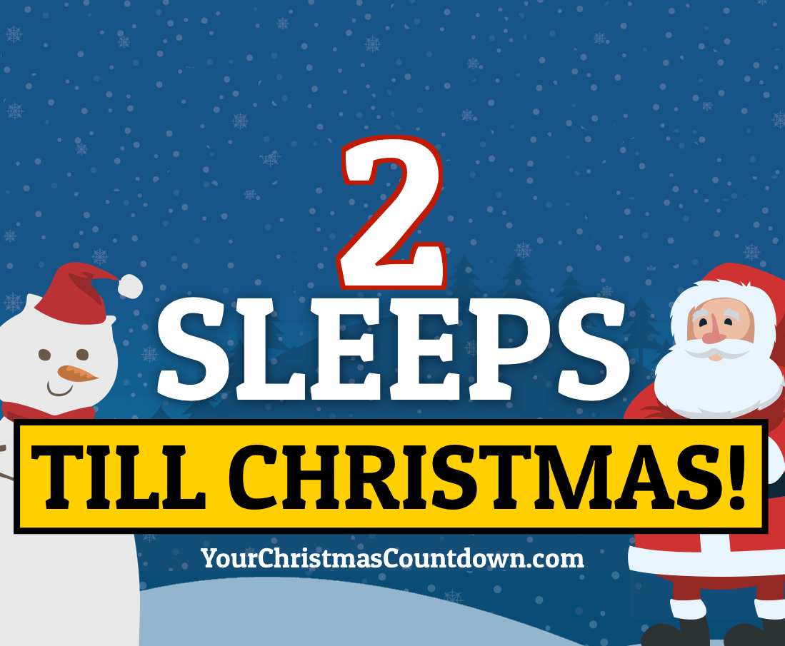 Your Christmas Countdown 2019.