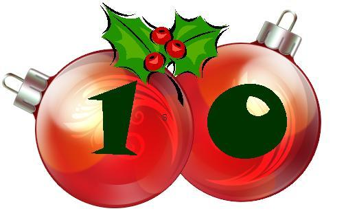 10 days until Christmas.