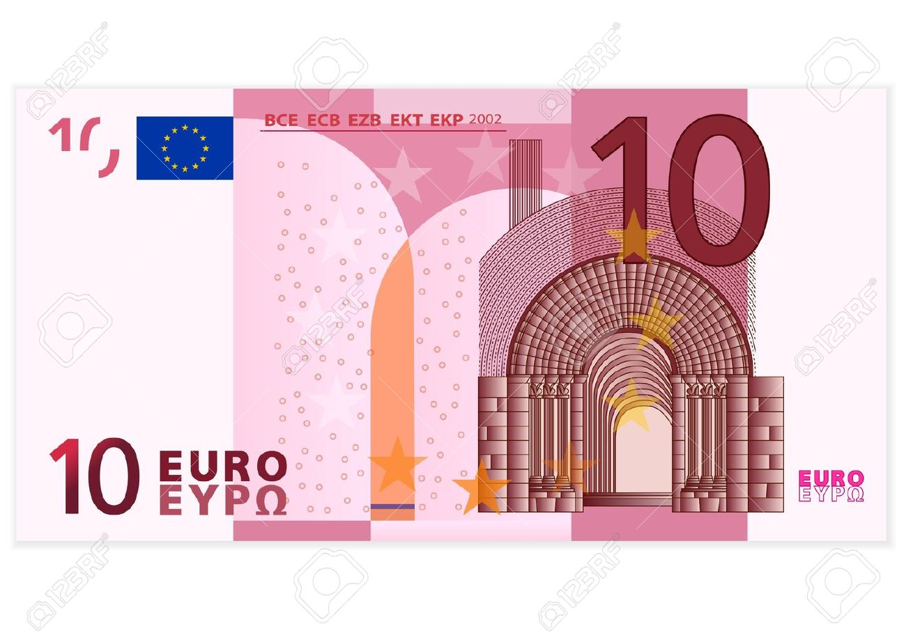 Euro One Hundred Note Pile Powerpoint Clip Art, Euro Bill Free.