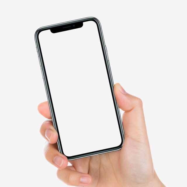 Iphone X In Hand Mockup, Mobile, Phone, Replenishing PNG.