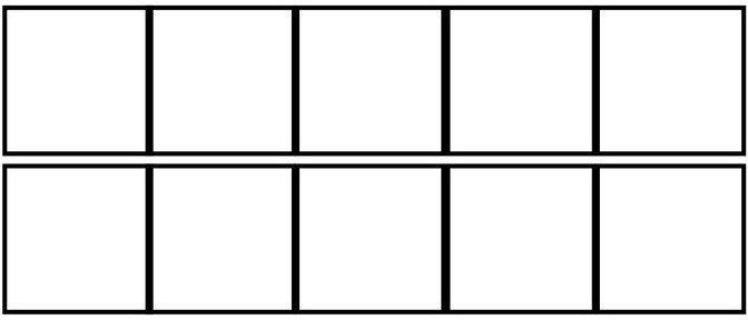 10 frame template.