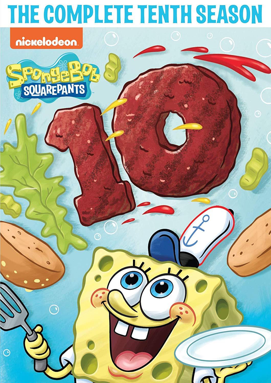 Amazon.com: SpongeBob SquarePants: The Complete Tenth Season.