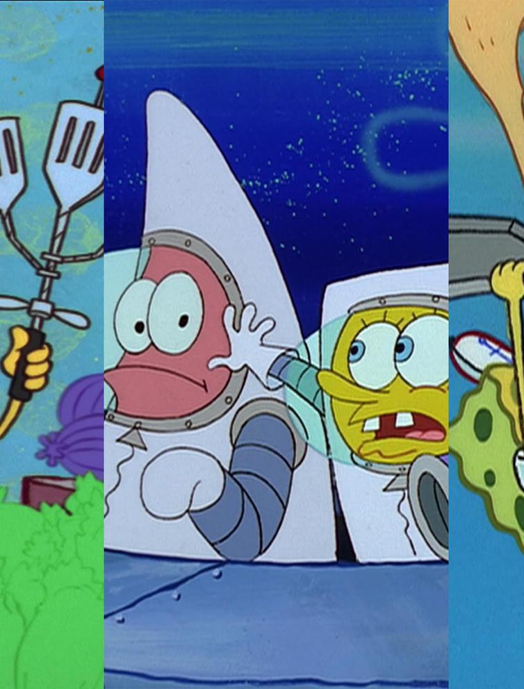 SpongeBob SquarePants\' 100 Best Episodes Ranked.