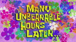 New Spongebob Hours Later Memes.