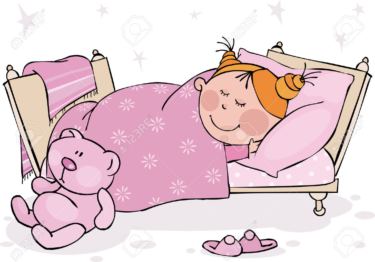 Go to bed clipart girl 10 » Clipart Station.