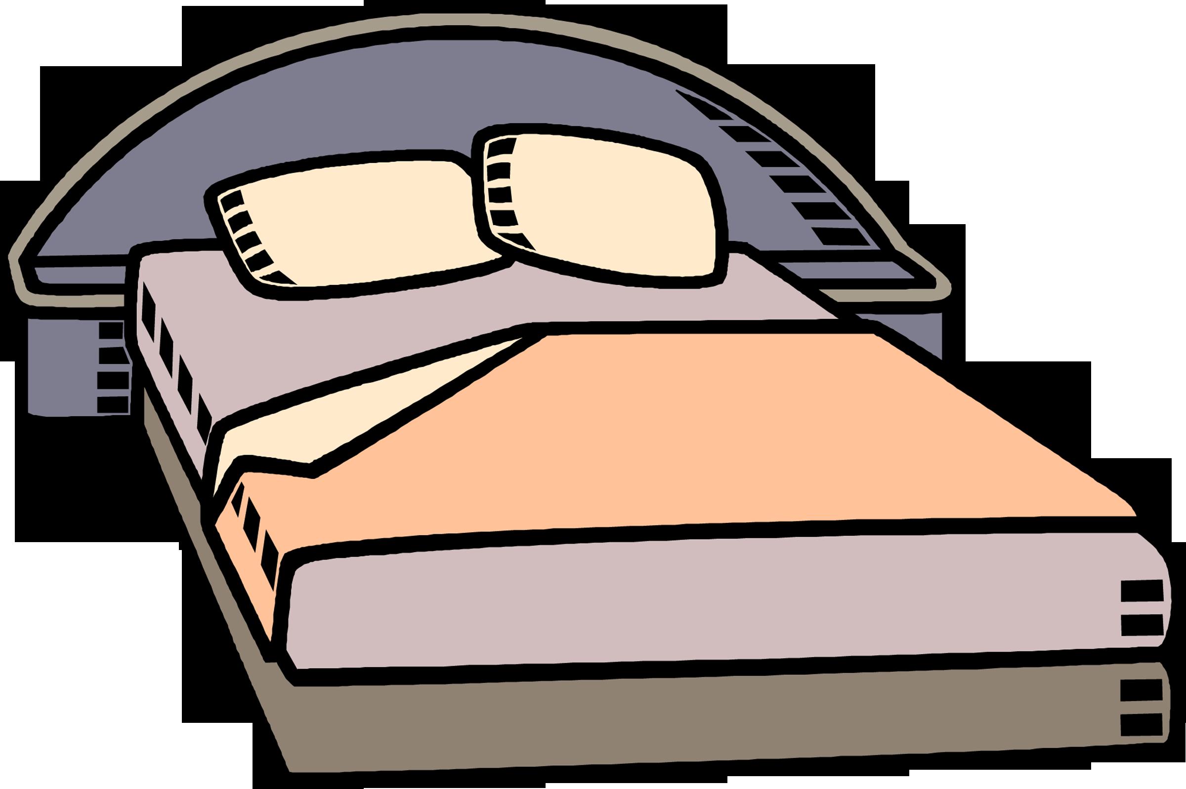 Bedroom Cartoon Bed.