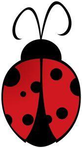 Ladybug Silhouette.