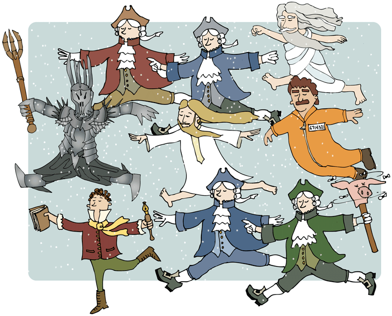 10 lords a leaping.