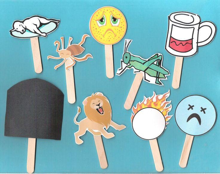 10 plagues craft.