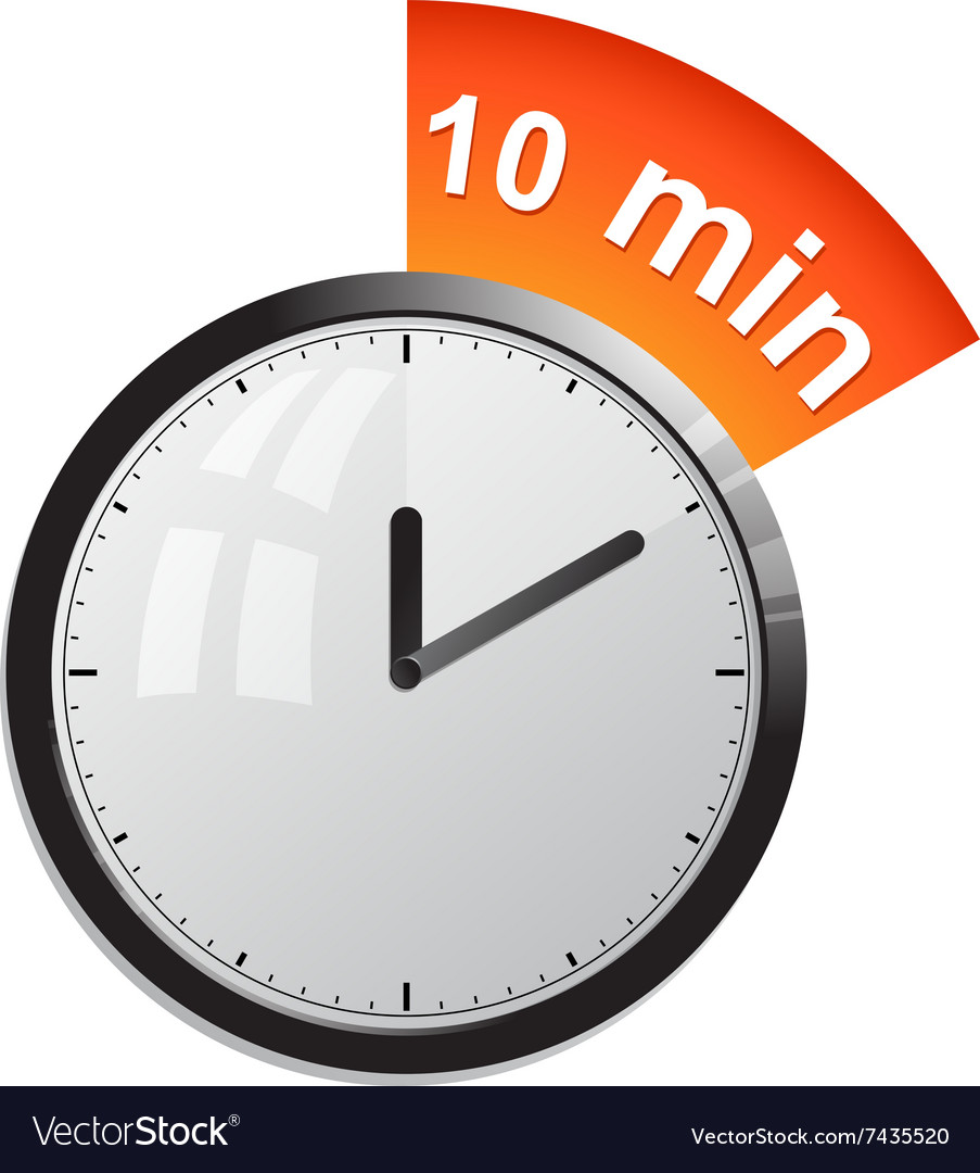 10 minute timer.