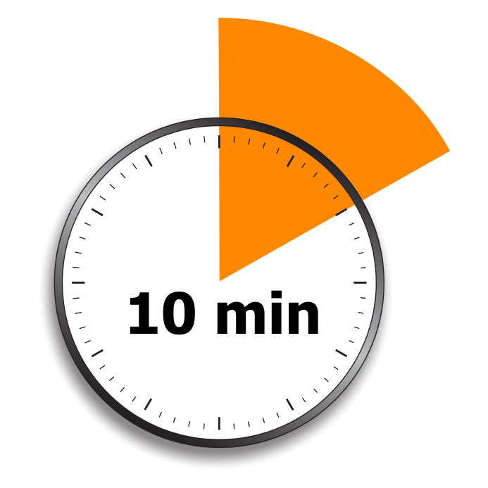 Minute Timer Clipart.