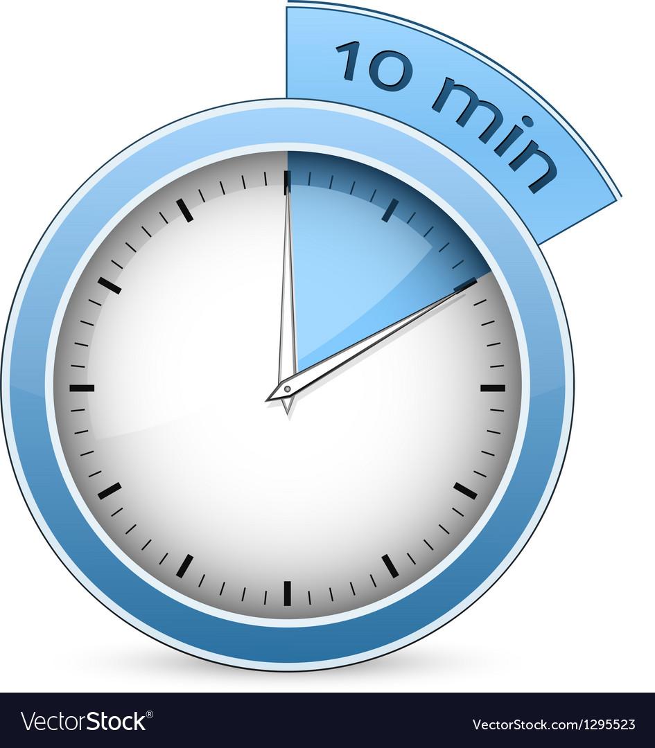 10 minute clock.