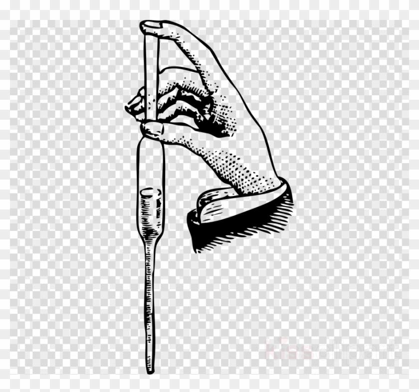 Download Pipette Clipart Pipette Clip Art Hand.