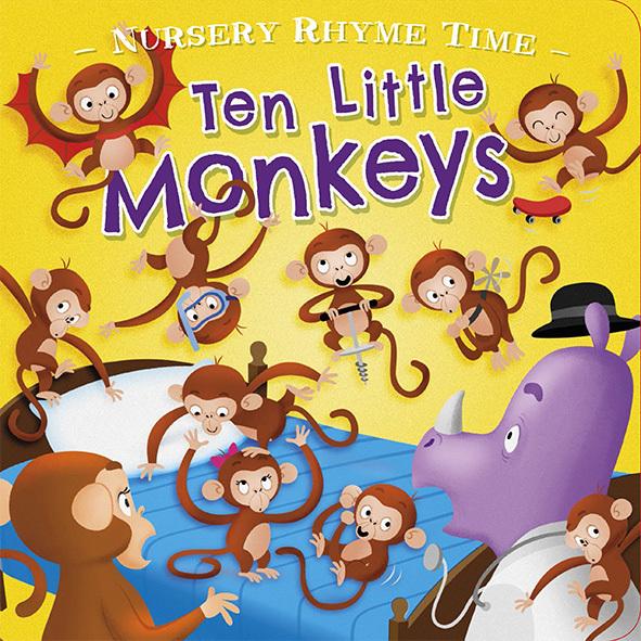 Ten Little Monkeys.