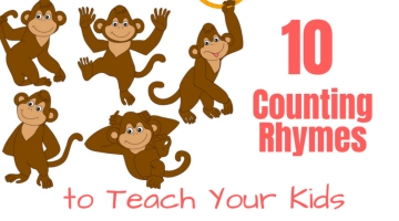 10 Counting Songs to Teach Your Kids.