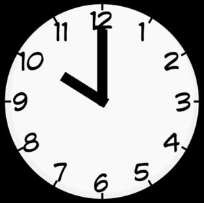 10 O Clock Clip Art at Clker.com.