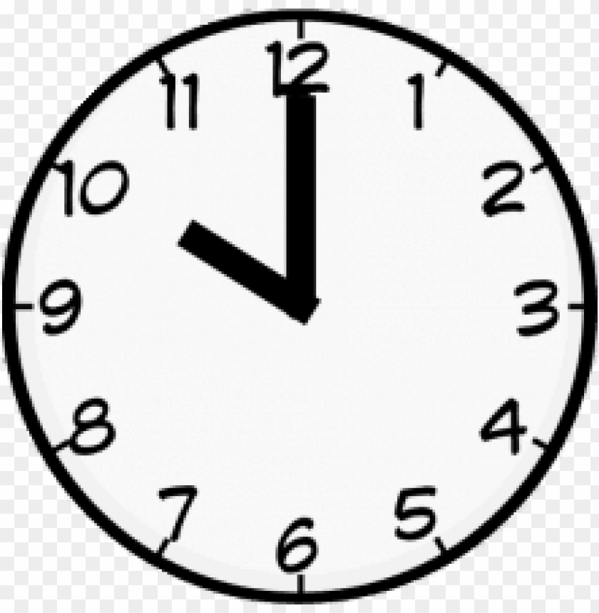 ten o\'clock PNG image with transparent background.