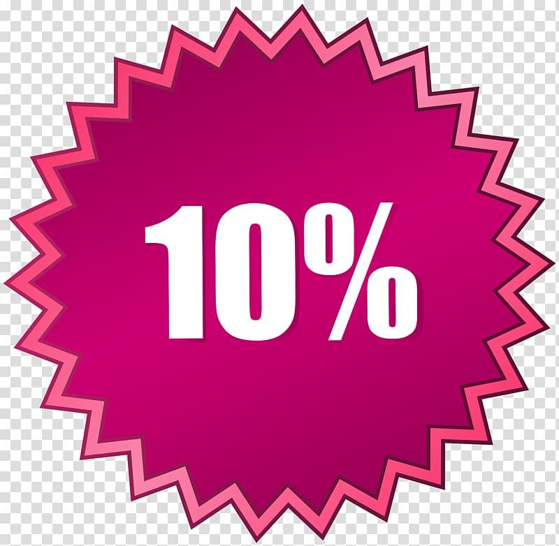 10% illustration,,10 Off Sale Label transparent background.