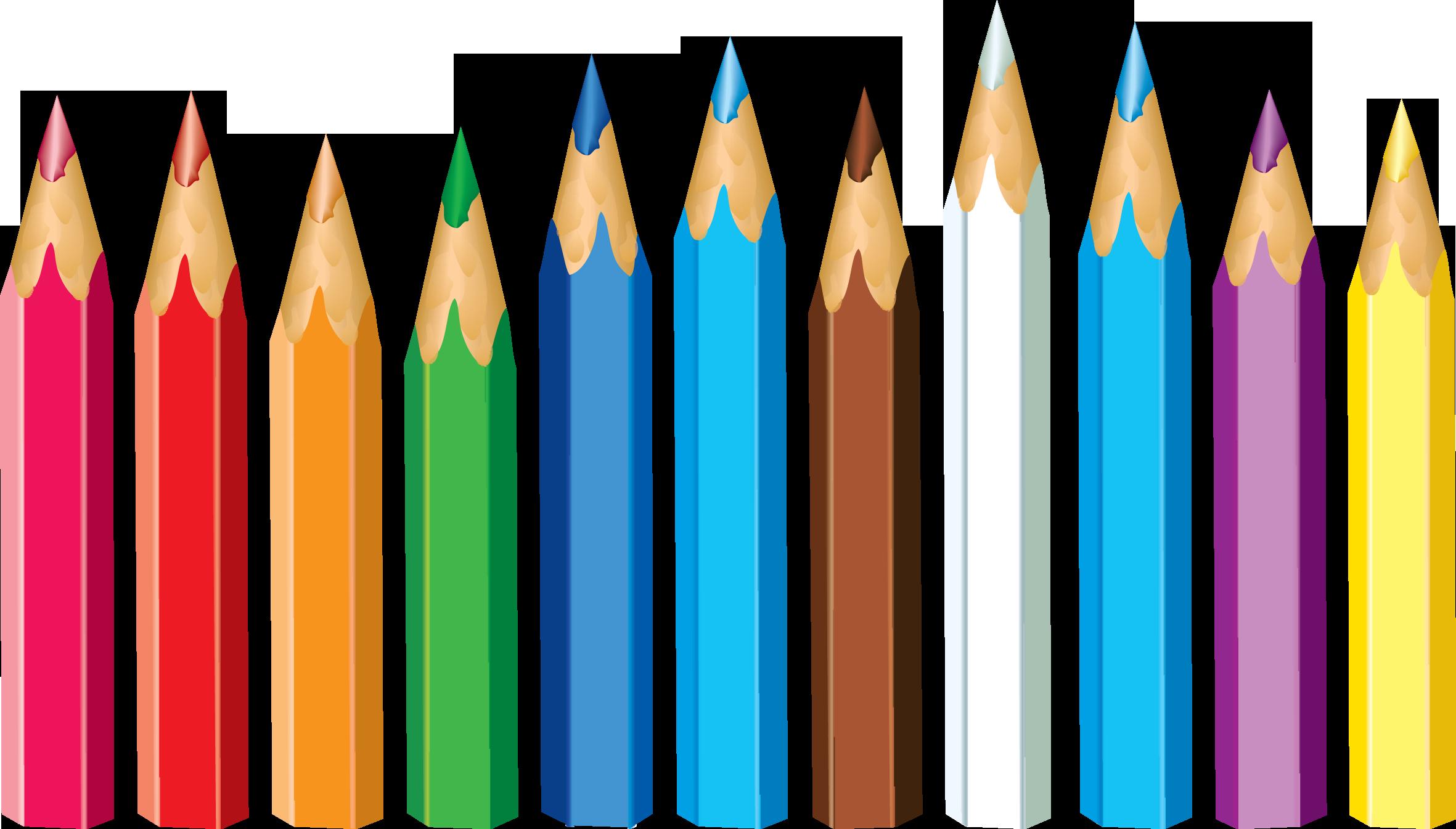 Free 10 Colored Pencil Cliparts, Download Free Clip Art.