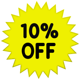 10% Off Clipart.