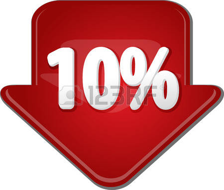 0 10 Percent Stock Illustrations, Cliparts And Royalty Free 10.
