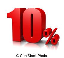 Ten percent in 3d Illustrations and Clip Art. 42 Ten percent in 3d.
