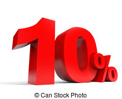 Red ten percent off discount 10 Clip Art and Stock Illustrations.