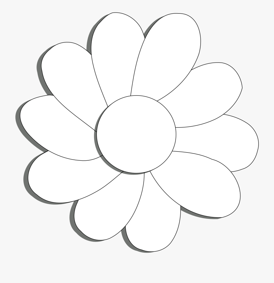 Flower With 10 Petals Clipart , Free Transparent Clipart.