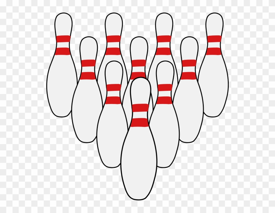 Download Ten Pins Clipart Bowling Pin Ten.